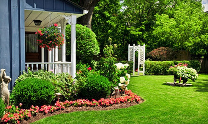Perfect Cut Lawn & Landscape - Lexington: Spring Lawn Cleanup with Fertilization and mowing, or Yard Mulching from Perfect Cut Lawn & Landscape (Up to 69% Off)