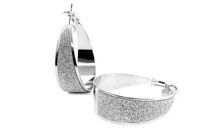Crystal Dust Earrings with Swarovski Elements