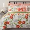 10-Piece Reversible Watercolor Comforter Set