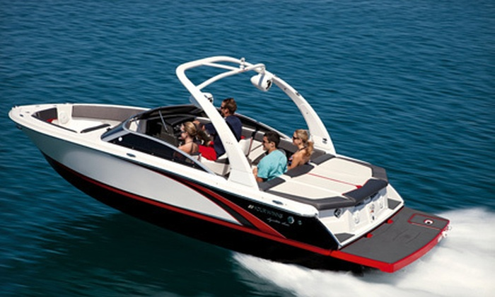 DFW International Boat Show - Arlington: One Day at the DFW International Boat Show for Two or Four at Rangers Ballpark in Arlington (Up to 54% Off)