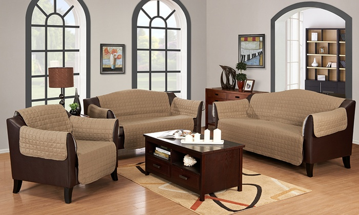 Suede Furniture Slipcovers: Suede Chair, Love Seat, or Sofa Slipcovers from $24.99–$38.99. Multiple Colors Available. Free Shipping and Returns.