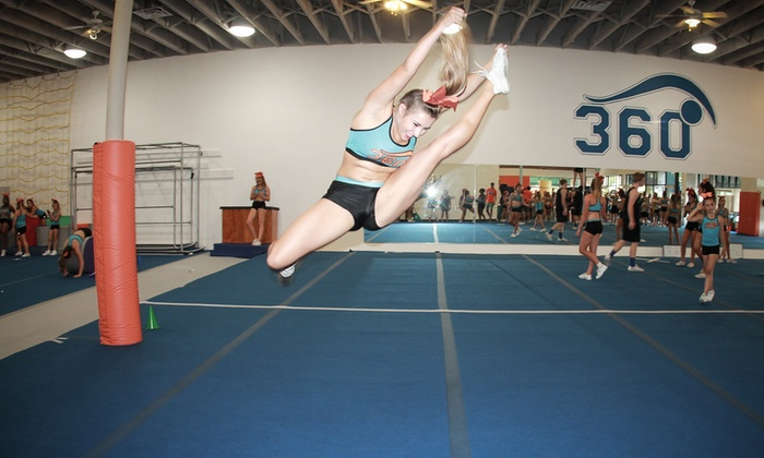 South Bay Cheer 360 - Olde Torrance Neighborhood: $9 for Two Open Gym Passes — South Bay Cheer 360 ($30 Value)