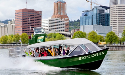 $16 for a 75-Minute Portland Bridges Cruise for One from Portland Spirit Cruises ($34 Value)