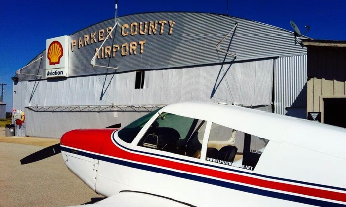 Nationwide Aviation - Parker County Airport: $99 for a Two-Hour Introductory Flight Experience at Nationwide Aviation ($215 Value)