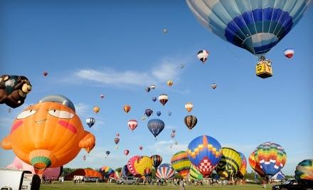 International Balloon Festival of Saint-Jean-sur-Richelieu: Single-Entry Full-Day Pass for 8/13 - Montgolfieres International Balloon and Music Festival in Saint-Jean-sur-Richelieu