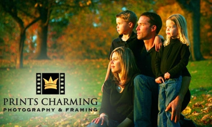 Prints Charming Photography - West Portland Park: $59 for a Photo Session and Printing Credit from Prints Charming Photography (Up to $277 Value)