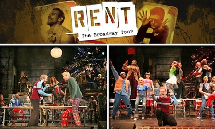 The Jackie Gleason Theater - Miami: $40 for One Orchestra Ticket to 'Rent' ($79.75 Value). Buy Here For Tuesday, December 8, at 8 p.m. See Below for Additional Performance.