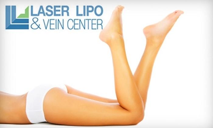Laser Lipo & Vein Center - O'Fallon: Vein Treatments at Laser Lipo & Vein Center in O'Fallon. Two Options Available.