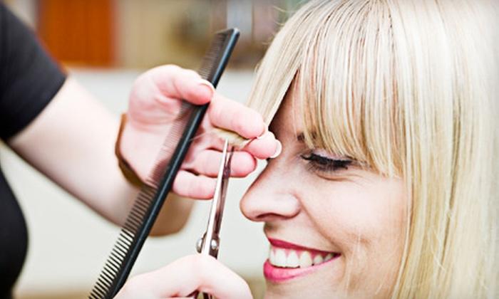 Hazel Street Salon - Birmingham: Haircut and Blowout or Cut, Blowout, and Color at Hazel Street Salon in Birmingham (Up to 57% Off)