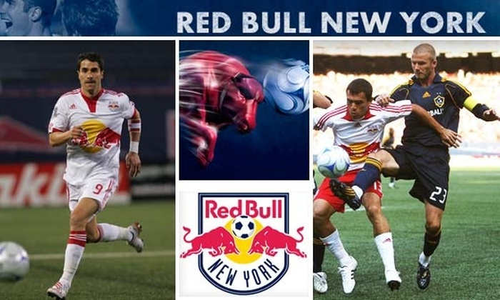 New York Red Bulls - New York City: $35 for 7/16 Ticket to Red Bulls vs. Beckham & the LA Galaxy