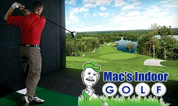 Mac's Indoor Golf - Stow: $28 for 18 Holes of Indoor Golf for Two at Mac's Indoor Golf ($56 Value)
