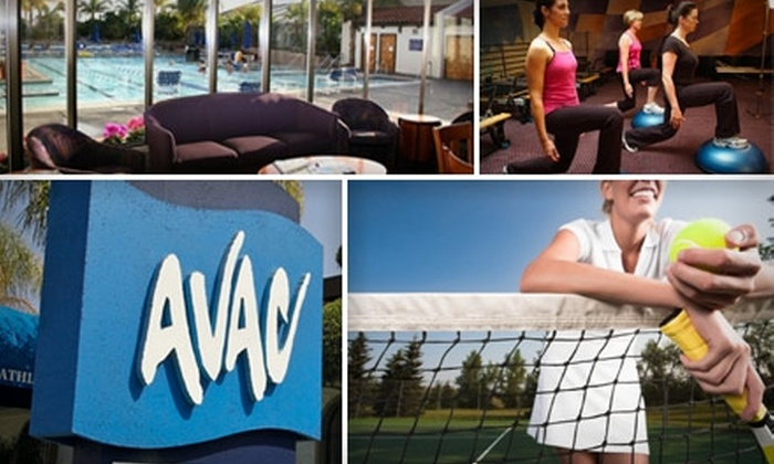 Almaden Valley Athletic Club - Kooser: $36 for Three Adult Beginner or Intermediate Group Tennis Lessons and Full-Club Access at Almaden Valley Athletic Club (Up to $135 Value)