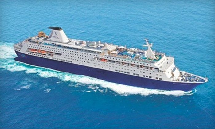 Celebration Cruise Line - Riviera Beach: $299 for Two-Night Cruise for Two Guests (Up to $689 Value) or $449 for Two-Night Cruise and Two-Night Stay in a Bahamas Resort for Two (Up to $804.24 Value) from Celebration Cruise Line