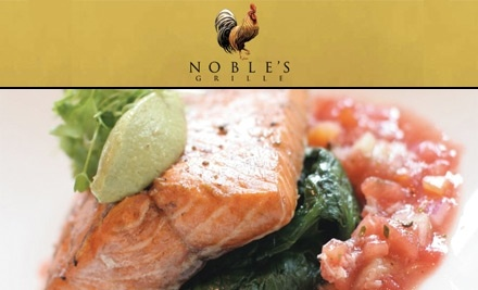 $50 Groupon to Noble's Grille - Noble's Grille in Winston-Salem