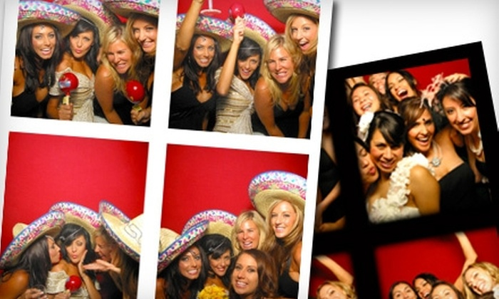 Strike a Pose Photo Booths - Madison: $395 for Three-Hour Photo-Booth-Rental Package from Strike a Pose Photo Booths ($795 Value)