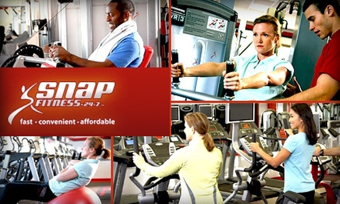 Snap Fitness - Multiple Locations: $35 for a Two-Month Membership with No Enrollment Fee at Snap Fitness ($70 Value)