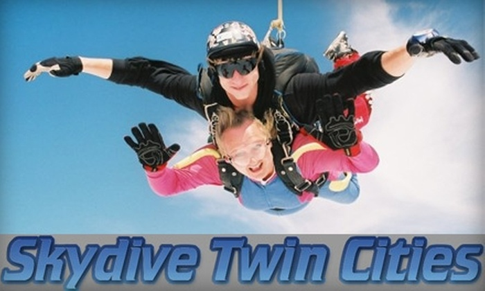 Skydive Twin Cities - Hammond: $130 for a Tandem Skydive Jump with Skydive Twin Cities (Up to $210 Value)