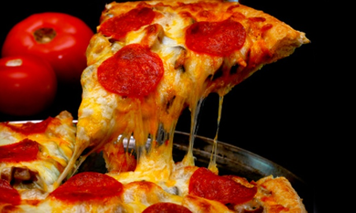 Empire Pizza - Paces River Apartment: $16 for a Pizza Dinner for Two at Empire Pizza in Rock Hill (Up to $33.85 Value)