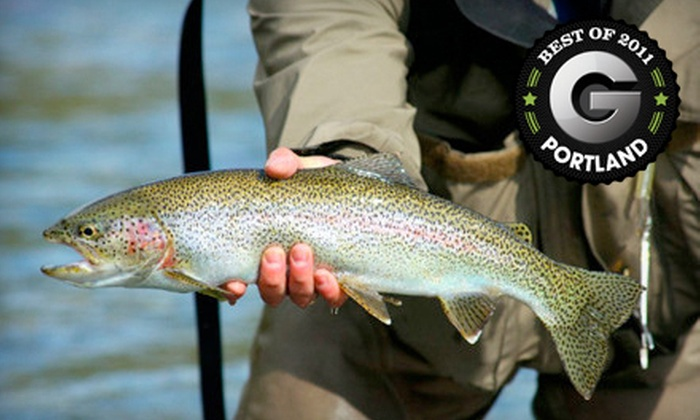 Steve Roberts Guide Service - Multiple Locations: $99 for an Eight-Hour Salmon-Fishing Trip from Steve Roberts Guide Service ($200 Value)