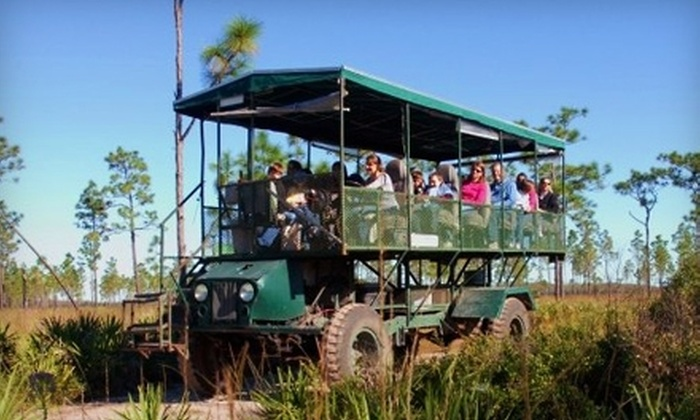 Florida EcoSafaris - St. Cloud: $16 for a Two-Hour Coach Safari at Florida EcoSafaris in St. Cloud (Up to $32 Value)