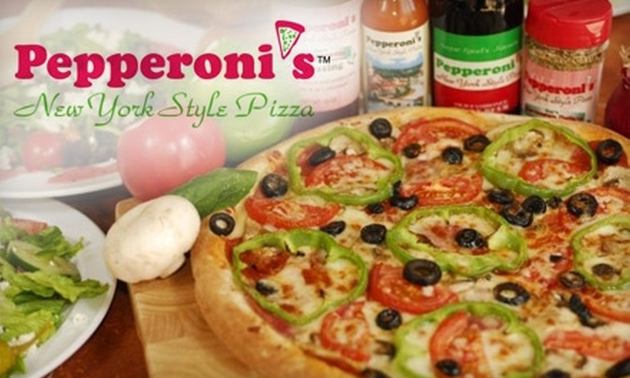 Pepperoni's Pizza - Multiple Locations: $10 for $20 Worth of Pizza, Pasta, and More at Pepperoni's Pizza