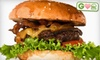 Franks & Toppings - Houston: $6 for Two Organic Beef Burgers at Franks and Toppings ($11.98 Value)