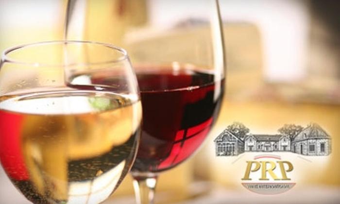 PRP Wine International - Jacksonville: $25 for a Wine Tasting at PRP Wine International ($54.50 Value)