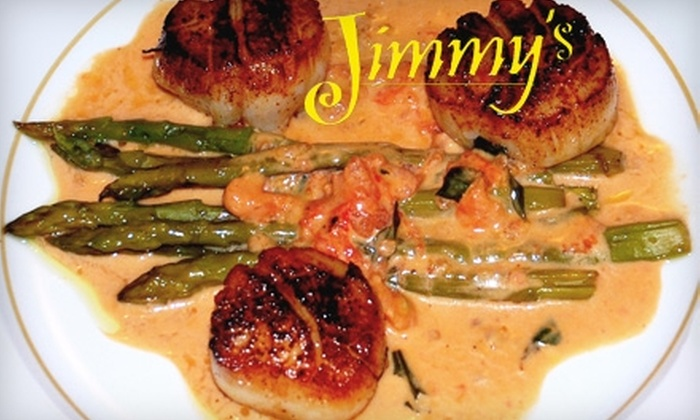 Jimmy's - Opelika: $15 for $30 Worth of New Orleans Cuisine at Jimmy's in Opelika