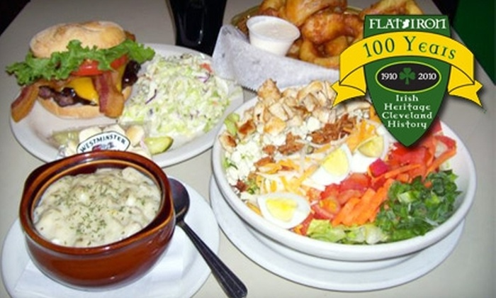 Flat Iron Cafe - Downtown: $9 for $20 Worth of Irish Fare and More at Flat Iron Cafe