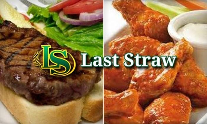 The Last Straw Brew Pub - Northeast Regina: $15 for $30 Worth of Classic Pub Fare and Craft Beer at The Last Straw Brew Pub