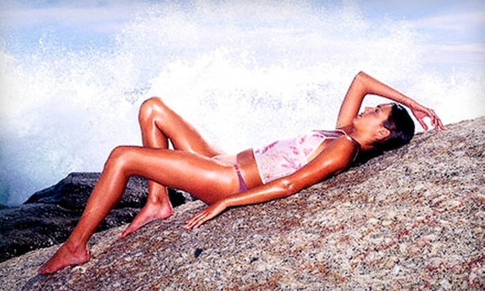 Solar Salon - Multiple Locations: $19 for Any Two Tanning Sessions at Solar Salon (Up to $48 Value)