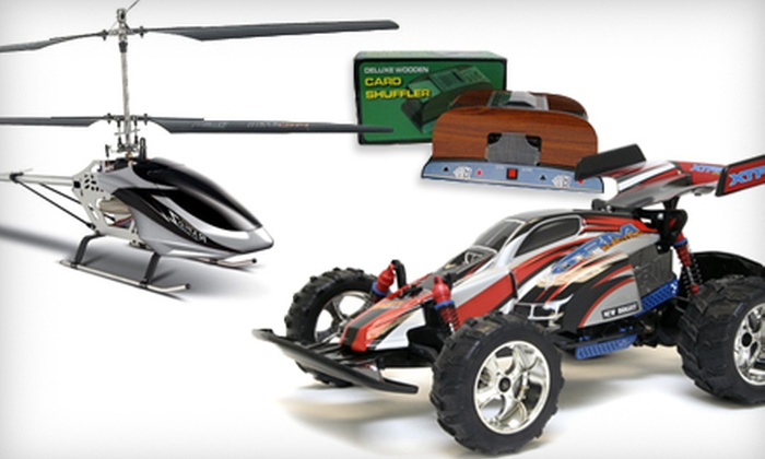 Big Boy Toyz - Clairlea - Birchmount: $15 for $30 Worth of Toys, Remote-Controlled Products, and Game-Room Accessories at Big Boy Toyz in Scarborough
