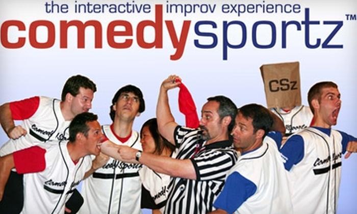 ComedySportz - Downtown San Jose: $7 Ticket to Improv Show at ComedySportz