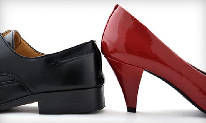 Fina Boot & Shoe Repair - Central Oklahoma City: Men's or Women's Heel Repair and Shine or Purse or Handbag Refinish at Fina Boot & Shoe Repair (Up to Half Off)