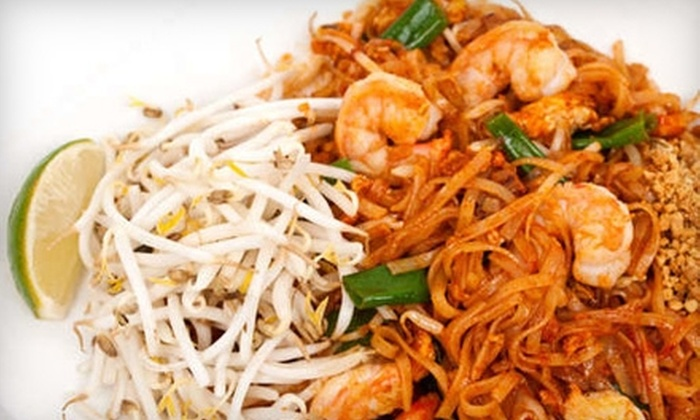 Khom Fai: Thai Dining Experience - Utica: $10 for $20 Worth of Thai Cuisine and Drinks at Khom Fai Thai Dining Experience in Shelby Township