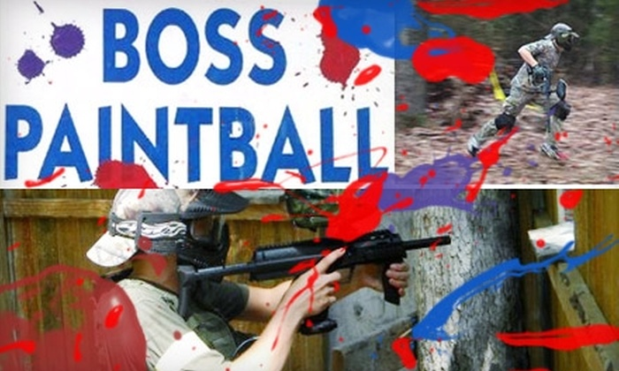 BOSS Paintball - Locust: $20 for All-Day Admission, Rental Gear, Unlimited Air, and 500 Paintballs at Boss Paintball in Locust ($43.15 Value)