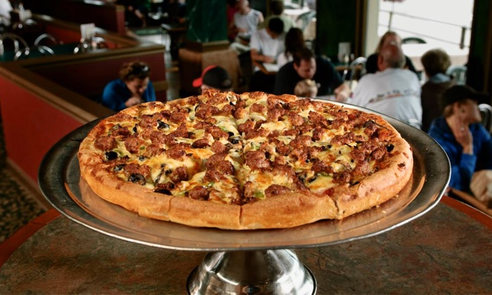 Pegasus Pizza and Pasta  - Alki Point: $20 for $30 Worth of Pizzeria Food and Drinks at Pegasus Pizza and Pasta