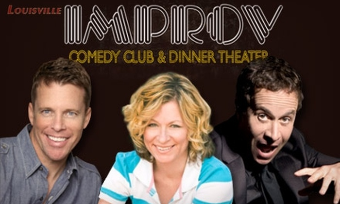 The Improv Comedy Club - Central Business District: Two Tickets to Chris Franjola and Sarah Colonna or One Ticket Plus an Appetizer to Pauly Shore at Improv Comedy Club. Choose from Three Shows.