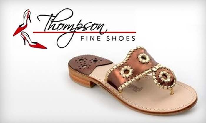 Thompson Fine Shoes - Avondale: $20 for $40 Worth of Shoes and Accessories at Thompson Fine Shoes