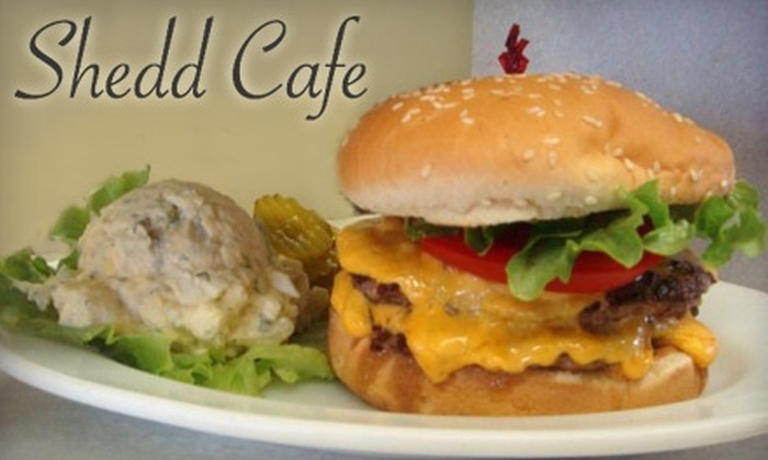 Shedd Cafe - Harrisburg: $7 for $15 Worth of Lunch Fare or $15 for a Reservation Dinner for Two (Up to $60 Value) at Shedd Cafe
