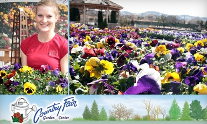 Country Fair Garden Center - Multiple Locations: $15 for $30 Worth of Plants and Gardening Supplies at Country Fair Garden Center