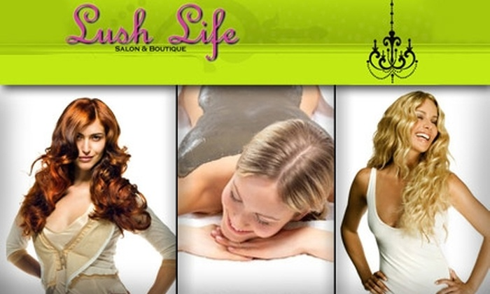 Lush Life Salon and Boutique - Downtown: $25 for $50 Worth of Services at Lush Life Salon & Boutique