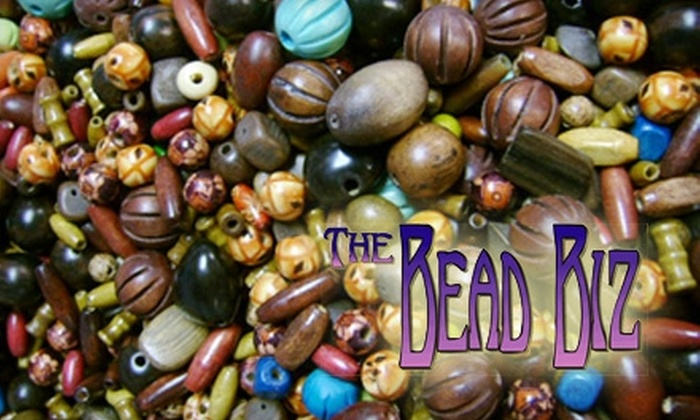 The Bead Biz - Helena: $10 for $25 Worth of Beads and Supplies at The Bead Biz