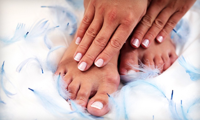 More Than Nails - The Lakes/Country Club: Mani-Pedi or Gel Mani-Pedi at More Than Nails (57% Off)