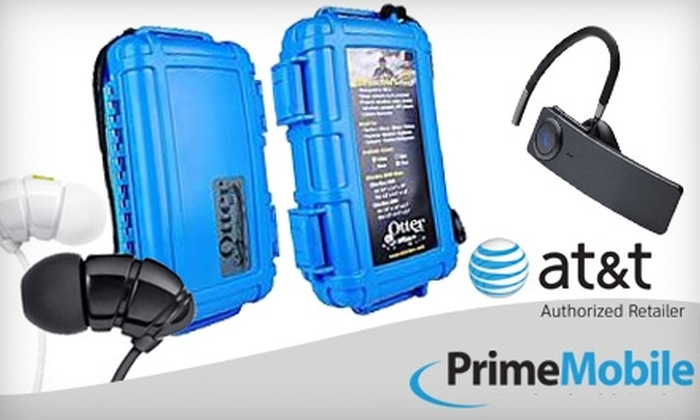 Prime Communications - Multiple Locations: $10 for $25 Worth of Cell-Phone Accessories at Prime Communications
