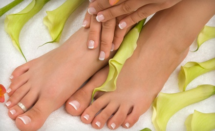 1 Mani-Pedi (an $80 value) - Vanity SpaSalon in Sunnyvale