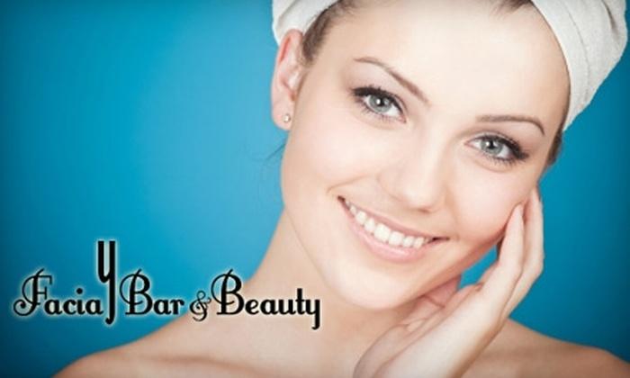 YFacial Bar - West End: $35 for a Deep Cleansing Facial at Y Facial Bar ($70 Value)