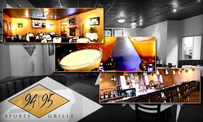 94/95 Sports Grille - West Omaha: $20 for $50 Worth of All-American Fare and Drinks at 94/95 Sports Grille