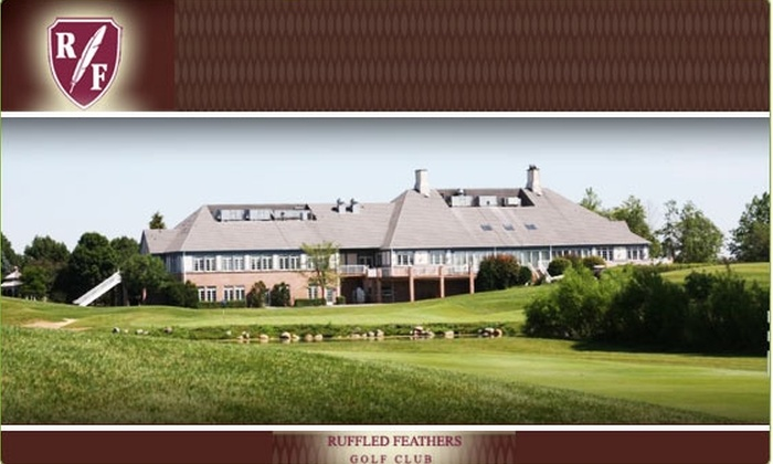 Ruffled Feathers Golf Course - Lemont: $95 for Golf for Two at Ruffled Feathers (Up to $190 Value)
