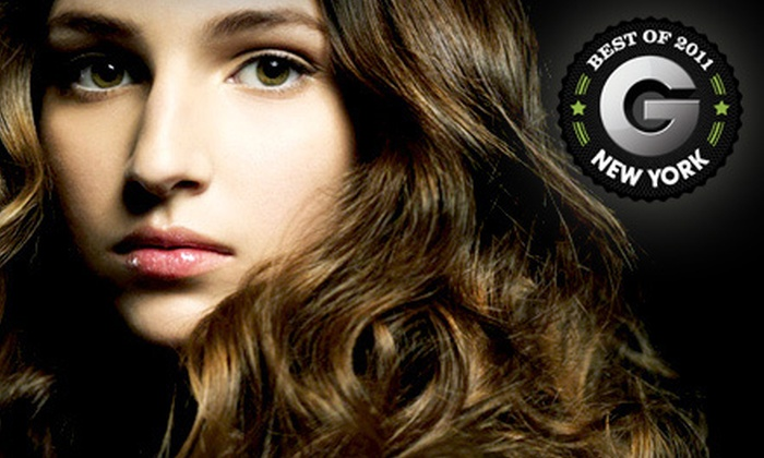 Red Market Salon - Greenwich Village: Senior-Level Haircut Package at Red Market Salon (Up to 75% Off). Three Options Available.